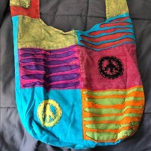 Handbags - Colorful, patch work cross body
